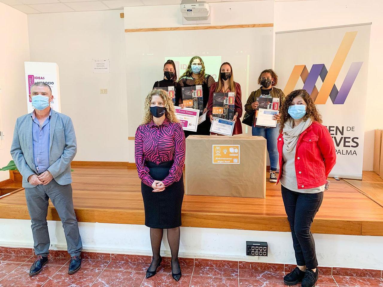La Red de Emprendimiento IES Virgen de Las Nieves entrega los premios del I Concurso de Ideas de Negocio